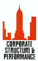 Corporate Structure   Performance
