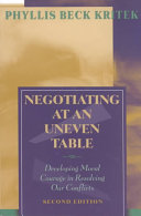 Negotiating at an Uneven Table