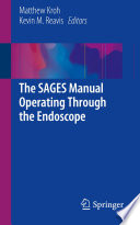 The Sages Manual Operating Through The Endoscope book