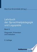 Lehrbuch Der Sprachheilpadagogik Und Logopadie