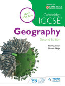 Cambridge IGCSE-Geography, 2nd Edition, Guiness & Nagle, 2014