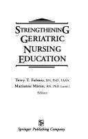 Strengthening Geriatric Nursing Education