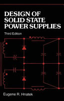 Design of Solid-State Power Supplies