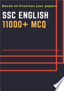 Ssc English 11000 Mcqs Based On Previous Year Papers  book