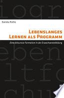 Lebenslanges Lernen als Programm