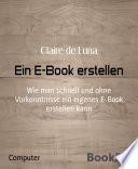 Ein E Book erstellen