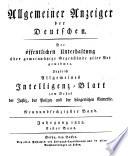 Allgemeiner Anzeiger der Deutschen