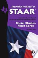 SWYK on STAAR Social Studies Gr  8  Flash Cards