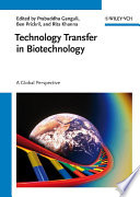 Technology Transfer In Biotechnology book