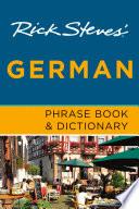 Rick Steves  German Phrase Book   Dictionary