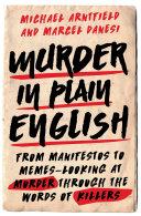 download ebook murder in plain english pdf epub