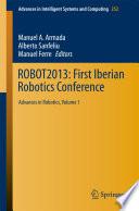 ROBOT2013  First Iberian Robotics Conference