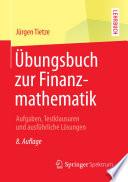 bungsbuch zur Finanzmathematik