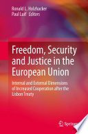 Freedom  Security and Justice in the European Union