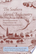 The Southern Colonial Backcountry