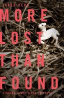 download ebook more lost than found pdf epub