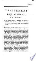 Traitement D Un Anthrax New York