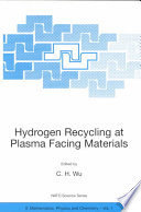 Hydrogen Recycling at Plasma Facing Materials