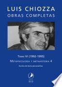 Obras Completas De Luis Chiozza Tomo Vi
