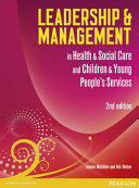 Leadership   Management in Health   Social Care and Children   Young People s Services