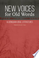 New Voices For Old Words : indiana university, bloomington....
