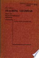 Four Studies in Teaching Grammar