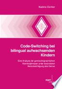 Code-Switching bei bilingual aufwachsenden Kindern