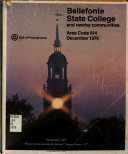 Bellefonte  State College and Nearby Points Telephone Directory