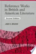 Reference Works in British and American Literature