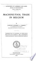 Machine tool Trade in Belgium