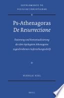 Ps Athenagoras De Resurrectione