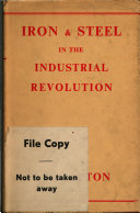 Iron and Steel in the Industrial Revolution