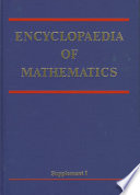 Encyclopaedia of Mathematics, Supplement PDF
