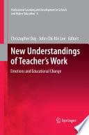 New Understandings Of Teacher S Work book