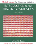 Minitab Manual for Moore and McCabe's Introduction to the Practice of Statistics