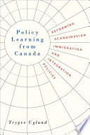 Policy Learning from Canada