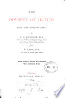 The Odyssey  done into Engl  prose by S H  Butcher and A  Lang