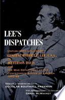 Lee's Dispatches : now once again available to civil...