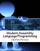 Modern Assembly Language Programming