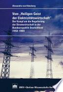 """Vom """"Heiligen Geist der Elektrizitätswirtschaft"""""""