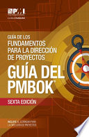 Guide to the Project Management Body of Knowledge  PMBOK   Guide    Sixth Edition  SPANISH