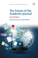 download ebook the future of the academic journal pdf epub