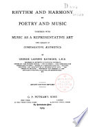 Rhythm and Harmony in Poetry and Musie