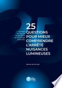 illustration 25 questions pour mieux comprendre l'arrêté nuisances lumineuses