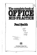 The Complete Book of Office Mis practice