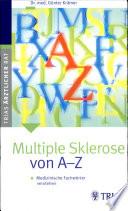Multiple Sklerose von A - Z