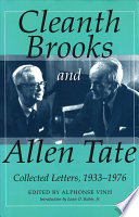 Cleanth Brooks And Allen Tate