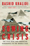 Sowing Crisis Book