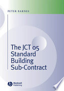 The JCT 05 Standard Building Sub Contract