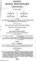 download ebook boyer\'s royal dictionary abridged pdf epub